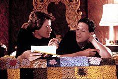 Matthew Broderick, Harvey Fierstein, 1988   Essential Gay Themed Films To Watch, Torch Song Trilogy http://gay-themed-films.com/films-to-watch-torch-song-trilogy/