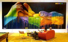 """Color Your Life"". Artwork: Seno"