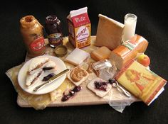 Betsy niederer miniature foods | Betsy Niederer pb and j | MiNi World | Pinterest