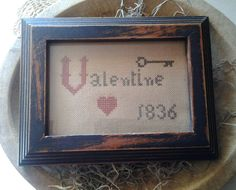 Created by Donna Mann – From Within My Heart  (A Country Rustic Primitives pattern.)