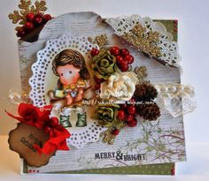 Magnolia, Ruby Montes, copics, Puppy Love Tilda,  Little Darlings sentiments, MIC blending paper, http://rubyonlywrote.blogspot.com/, and that's all she wrote