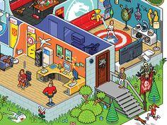 Geek Fitness by Megapont #Design Popular #Dribbble #shots