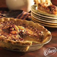 Buttery Crust #Pecan #Pie from Crisco®