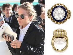 All The Details On Mary Kate Olsen S Engagement Ring