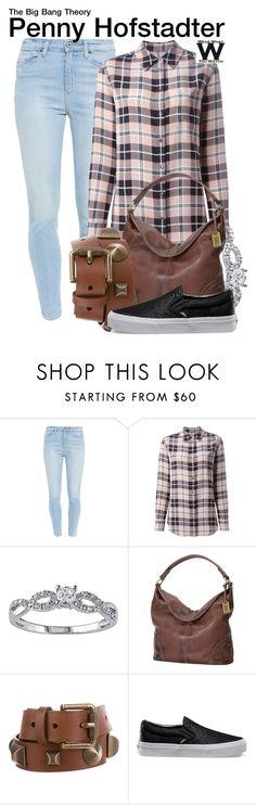 """The Big Bang Theory"" by wearwhatyouwatch ❤ liked on Polyvore featuring Paige Denim, Equipment, Lab, Frye, Burberry, Vans, television and wearwhatyouwatch"