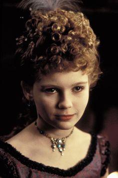 interview with a vampire  - A espetacular Kirsten Dunst, já mostrando à que veio, aos 12 anos. Talento nato.