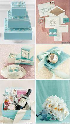 Tiffany blue and white wedding ideas!