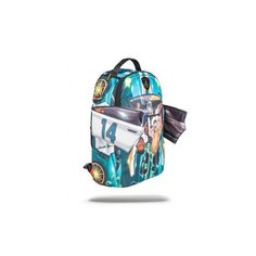 Jarvis Landry #14 Lambo Backpack | Sprayground Backpacks, Bags, and... ❤ liked on Polyvore featuring bags, backpacks, rucksack bag, blue backpack, blue bag, backpacks bags and day pack backpack