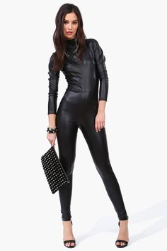 Cat Woman Jumpsuit....Maybe next halloween
