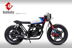 caferacerpasion.com  Suzuki Van Van #CafeRacer Design #1 by Barbara Custom Motorcycles [TAGS] #caferacerpasion #suzuki #caferacersofinstagram #caferacerxxx #caferacerporn #caferacerculture