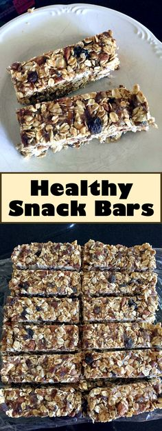 his is a great snack to have because it is healthy and it makes a great breakfast bar too. You can customize it based on nuts and fruits that you like.