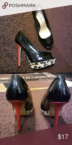 Steve Madden peep toes Very good condition heels Steve Madden Shoes Heels