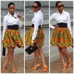 ankara skirt !lovely