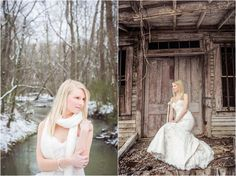 bride in snow, knoxville wedding photographer, photographer in knoxville tn  http://pinterest.com/jophotos/