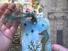 More Tim Holtz 12 Tags of 2014 - YouTube