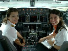 Plane girls with wings