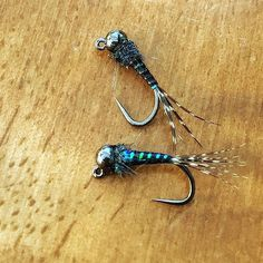 Such simplicity in its fish catching perfection. My go to micro jig fly #18…