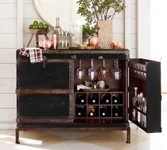 Shop bar furniture from Pottery Barn. Our furniture, home decor and accessories collections feature bar furniture in quality materials and classic styles. Bar Furniture For Sale, Furniture Ideas, Furniture Nyc, Apartment Furniture, Furniture Companies, Cheap Furniture, Luxury Furniture, Furniture Makeover, Apartment Ideas