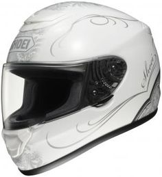 LADIES MOTORCYCLE HELMET SHOEI QWEST SONOMA TC6