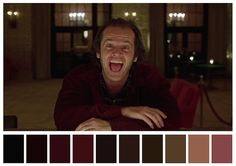 Cinema Palettes: Color palettes from famous movies - The Shining