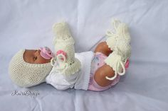Baby doll clothes 17 and 18 inch doll knitting PATTERNS Doll #knitting #patterns