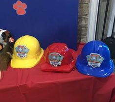 Kat H's Birthday / Paw Patrol - Photo Gallery at Catch My Party 4th Birthday Parties, Baby Birthday, Third Birthday, Birthday Ideas, Paw Patrol Birthday Decorations, Paw Patrol Party Favors, Creations, Halloween, Threenager