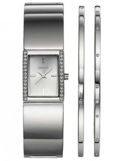 DKNY Ladies Watch Bangle Set NY8496