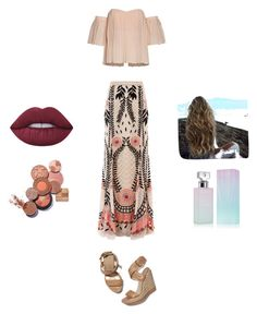 """Untitled #224"" by heather2003 on Polyvore featuring Temperley London, Stuart Weitzman, Lime Crime and Calvin Klein"