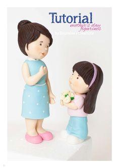 """""""Mother & daughter Figure Tutorial"""