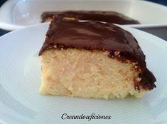 Tarta de queso fresco batido y cobertura de chocolate | Cocina
