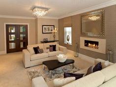 Luxus Wohnzimmer Deko Braun Beige