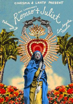 Romeo + Juliet by Alia Penner Leonardo Dicaprio Romeo, Film Romeo And Juliet, Romeo Und Julia, Baz Luhrmann, Hopeless Fountain Kingdom, Romeo Y Julieta, Bizarre, Film Serie, William Shakespeare