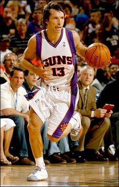 Steve Nash...Possibly played his last game in the purple and orange. No matter where he goes, I'lll always be a fan. #respect