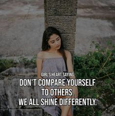 Study Motivation Quotes, Dont Compare, Comparing Yourself To Others, Motivational Quotes, Sayings, Lyrics, Motivating Quotes, Quotes Motivation, Motivation Quotes