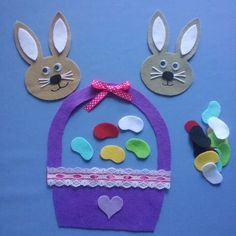 Al and Easter Jelly Bean Song - Felt Board Magic