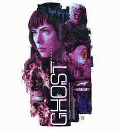 What do you think? I'm almost finished with my #movieposter #art tribute #painting and #design excited for #ghostintheshell #gits #movie #film #manga #anime #poster #alternativemovieposter #scifi #cyborg #scarlettjohansson #geisha #future #digitalpainting #illustration #photoshop