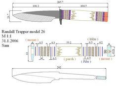 чертежи для изготовления ножей | 279 фотографий