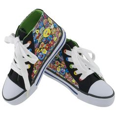 Sesame Street Hightop Character Black Shoes from PBS Kids Shop