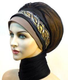Rapture Muslim Fashion Womens Hijabs Flower Muslim Islamic Hijab Inner Caps Beanie Cap Sleep Turban Hat Caps Bonnet Traditional & Cultural Wear