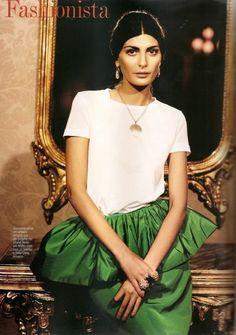 Vogue Brasil editorial images © 2011 Condé Nast.
