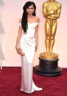 Zendaya Speaks Out After Her Dreadlocks Are Criticized at Oscars  - ELLE.com