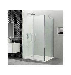 Mampara de baño OPEN 2 Puertas Abatibles