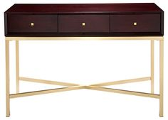 Refined Console, Espresso | Need It Now | One Kings Lane