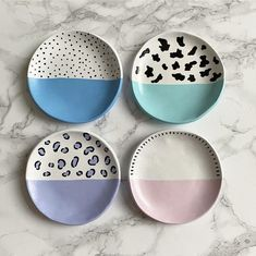 Ceramic Painting, Ceramic Art, Ceramic Pottery, Pottery Art, Pottery Painting Designs, Pottery Painting Ideas Easy, Keramik Design, Clay Plates, Clay Art Projects