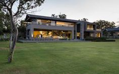 Modern Luxury Farmhouse with Emphasis on Entertaining: House in Blair Atholl - http://freshome.com/modern-luxury-farmhouse-with-emphasis-on-entertaining-house-in-blair-atholl/