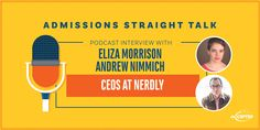 Meet Eliza Morrison and Andrew Nimmich, the CEOs of Tutor the People and Nerdly. Both of today's guests attended the College of Charleston in South Carolina Gre Test, College Of Charleston, Business School, Entrepreneur, Investing, Interview, Projects, Window, Log Projects