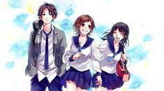 Japan Song's [With Indonesian Translate] Koi, Vocaloid, Zutto Mae Kara, Honey Works, Group Art, Happy Tree Friends, Love Illustration, Anime Couples, Haikyuu