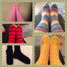 Mulle kaikki nyt heti!: Sukkia, sukkia - syksy tulee! Kumpareen ohje