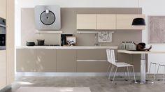 abbinamenti legno pavimento e mobili cucina