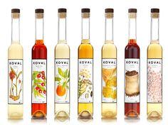 The whole KOVAL liqueur line.